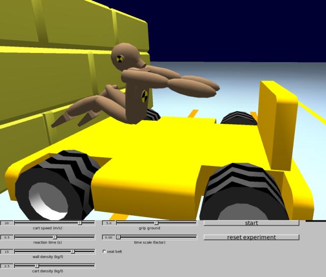 crashtest... the educational crash simulator for linux